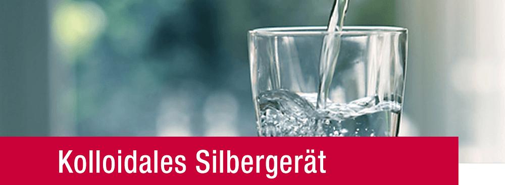 Kolloidales Silbergerät