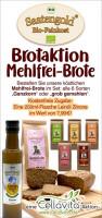 AKTION: Mehlfreie Brote GROB GEMAHLEN mit kostenfreier Zugabe
