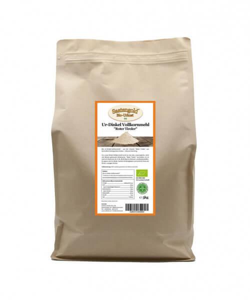 Ur-Dinkel-Vollkornmehl (Bio) 5kg Beutel
