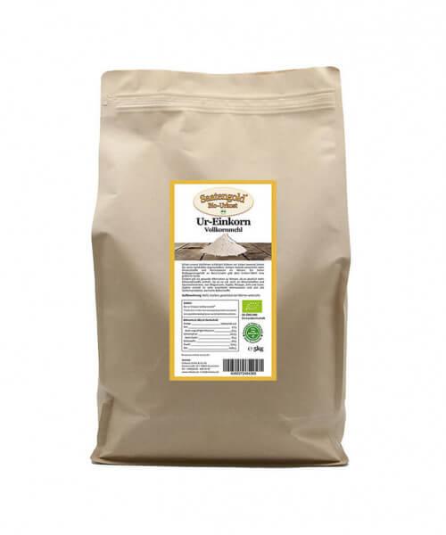 Einkorn Vollkornmehl (Bio) 5kg Beutel