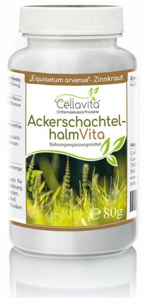 Acker-Schachtelhalm (Zinnkraut) Vita | 80g (114 Tages-Vorrat) Pulver
