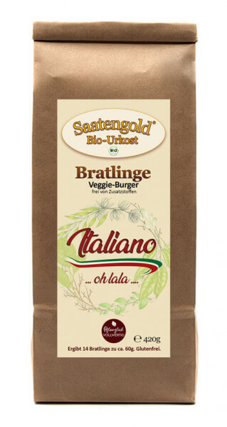 "Bratlinge - Veggieburger ""Italiano"" für 14 Bratlinge"