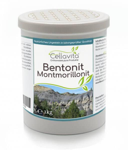 Premium Bentonit Montmorillonit 1000g