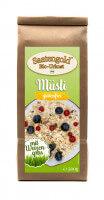 Saatengold® - Bio Müsli mit Weizengras - glutenfrei & vegan - 500g