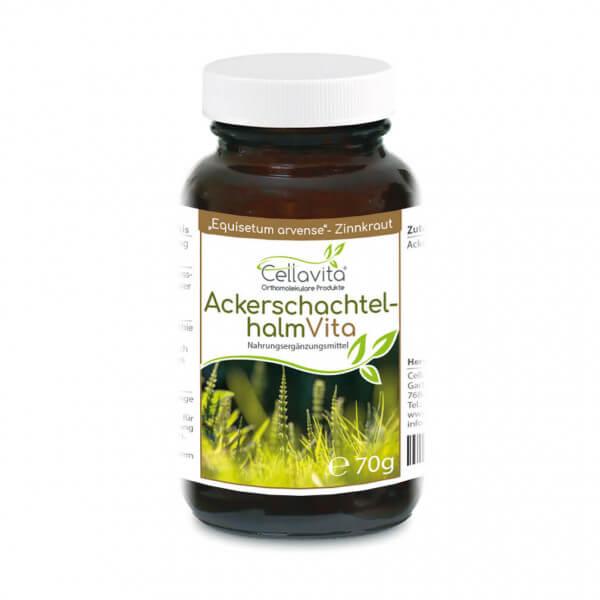 Ackerschachtelhalm (Zinnkraut) Vita   70g (100 Tages-Vorrat) Pulver im Glas