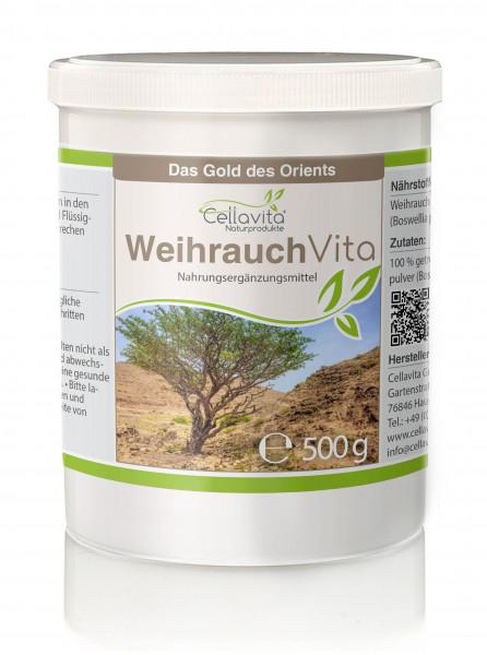 Weihrauch (Boswellia papyrifera) 4-Monatsvorrat - 500g
