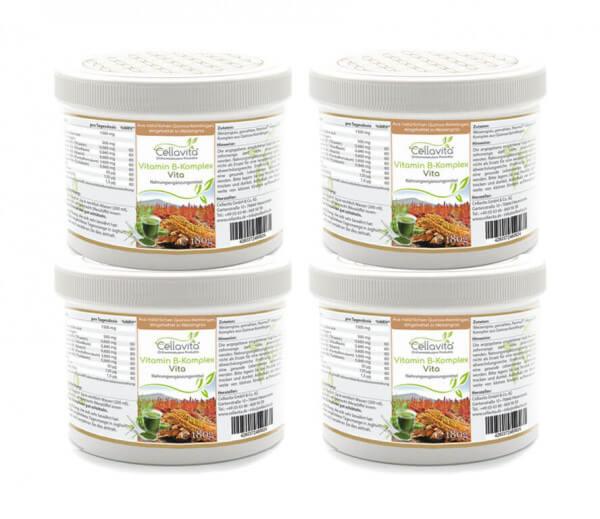 Vitamin B-Komplex Vita -Vorteilspaket - 4x180g