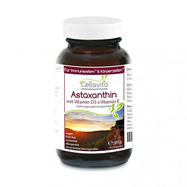 Astaxanthin Vita 60 Kapseln im Glas