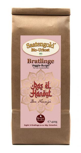 "Bratlinge - Veggieburger ""Ras-el-Hanout"" für 14 Bratlinge"