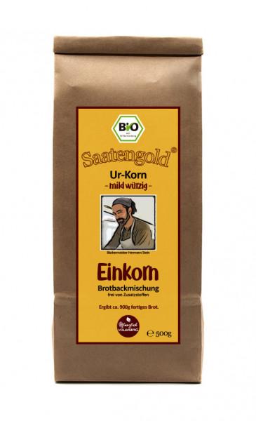 Mehl-Brotbackmischung (Bio) Einkorn mild/würzig 500g