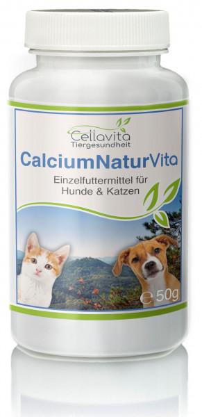 Calcium Natur - 50g für Hunde & Katzen