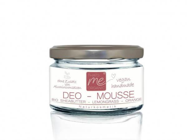 Deo-Mousse Lemongrass-Orange Deo Naturkosmetik vegan, 20ml