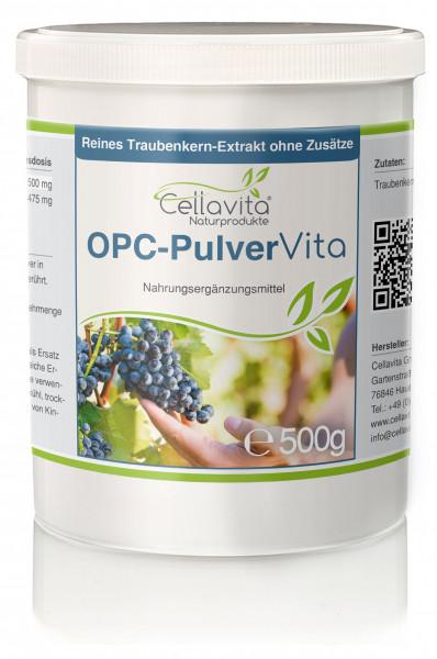 OPC Vita Traubenkernextrakt 500g Pulver