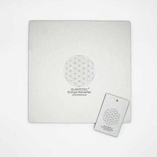 Quantotec® Energie-Konverter Anhänger + Platte als Set