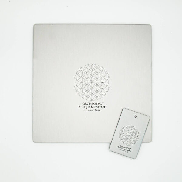 Quantotec® Energie-Konverter Karte + Platte als Set