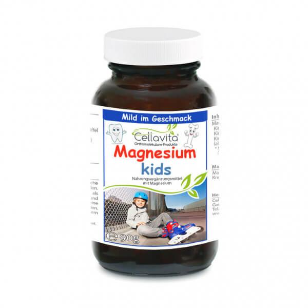 Magnesium kids für Kinder - 90g Pulver im Glas