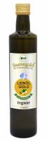 "Saatengold-Bio-Feinschmecker-Öle ""Leinöl Ingwer"" 500ml"