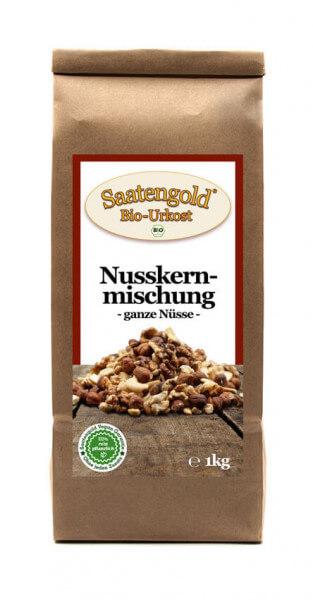 """Bio-Nusskernmischung """"ganze Nüsse"""" 1kg"""
