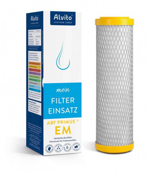 "Alvito Filterkartusche Aktivkohlefilter ABF Primus® EM ""gelb"""