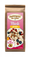 Saatengold® - Bio Müsli mit Rosinen - glutenfrei & vegan - 500g