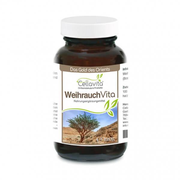 Weihrauch (Boswellia papyrifera) Monatsvorrat - 120g im Glas
