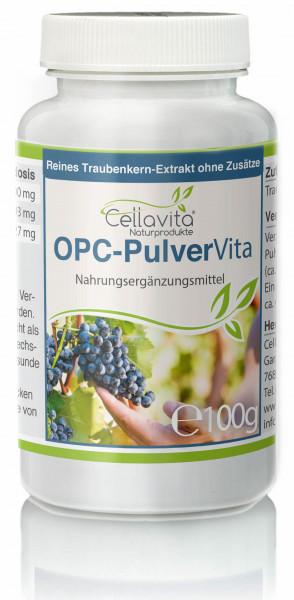 OPC Vita Traubenkernextrakt 100g Pulver