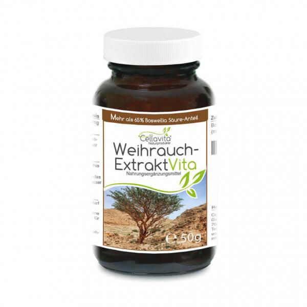 Weihrauch-Extrakt Vita | 50g Pulver (100 Tages-Vorrat)