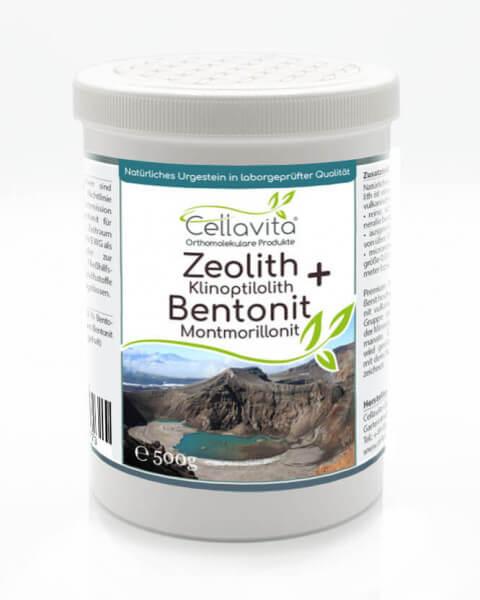 Premium Zeolith + Bentonit 500g Pulver