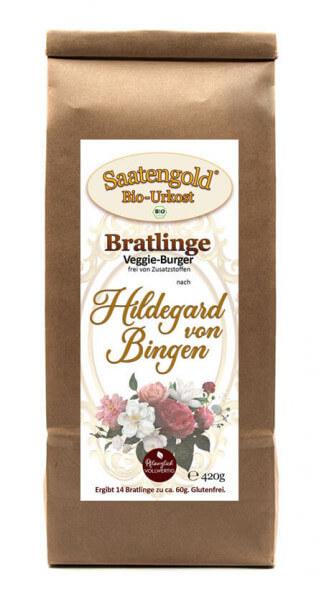 """Bratlinge - Veggieburger nach """"Hildegard von Bingen"""" für 14 Bratlinge"""
