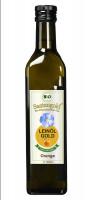 "Saatengold-Bio-Feinschmecker-Öle ""Leinöl Orange"" 1000ml"