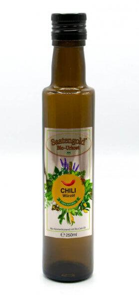 Saatengold-Bio-Würzöl Chili 250ml