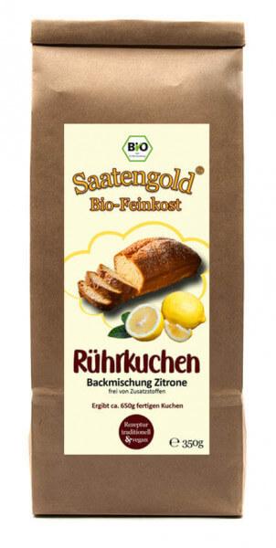 Zitronenkuchen Backmischung (Bio) Ur-Dinkel hell 350g