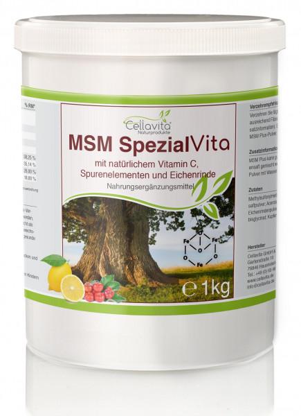 MSM Spezial Vita mit Vitamin C - 1000g