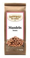 Bio-Mandeln braun - Rohkostqualität - 250g