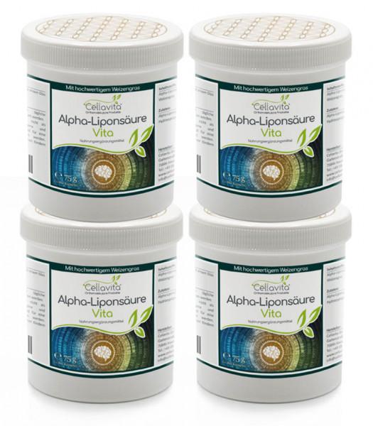 Alpha-Liponsäure Vita 4 x 180 Kapseln (Vorteilspaket)