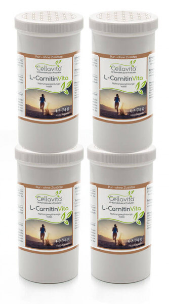 L-Carnitin Vita 4x 120 Kapseln Vorteilspaket