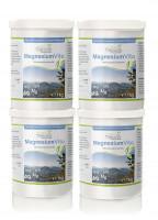 Magnesium Vita (100%) Vorteilspaket 4 x 1kg