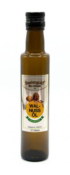Saatengold® Bio-Walnussöl kalt gepresst, unfiltriert 250ml
