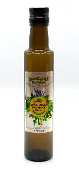 Saatengold-Bio-Würzöl Kräuter der Provence 250ml