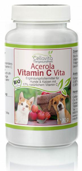 Acerola Vitamin C - 90g für Hunde & Katze