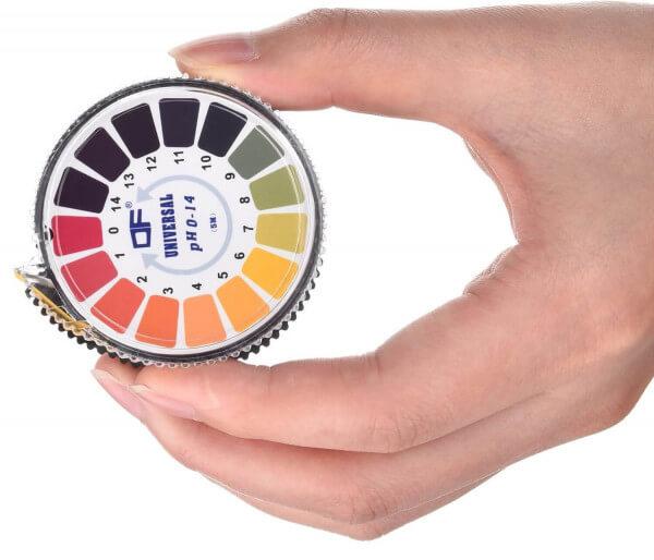 pH-Testpapierrolle von 0-14