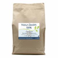 Natur-Zeolith (100%) - Klinoptilolith - 500g Vorratsbeutel
