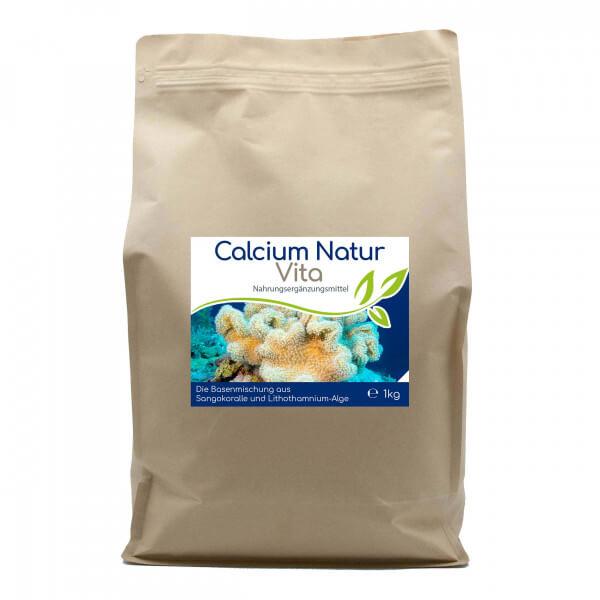 Calcium Natur Vita - 8-Monatsvorrat - 1kg Vorratsbeutel
