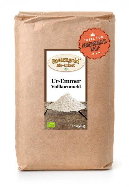 Emmer Vollkornmehl (Bio) 25kg Sack