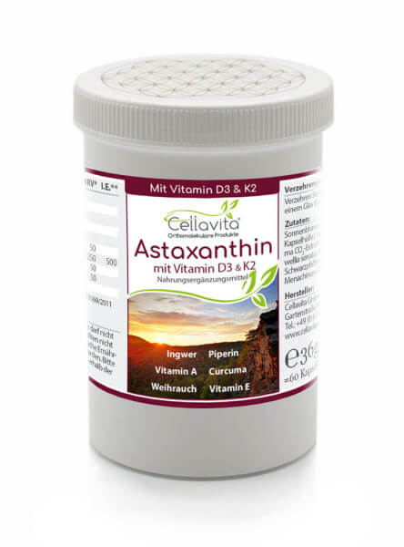 Astaxanthin Vita 60 Kapseln (2 Monatsvorrat)
