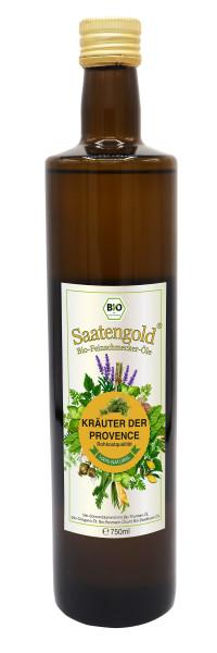 Saatengold-Bio-Feinschmecker-Öle Kräuter der Provence 750ml