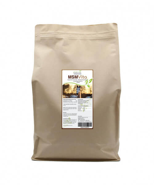 MSM - Organischer Schwefel - 5 kg für Pferde