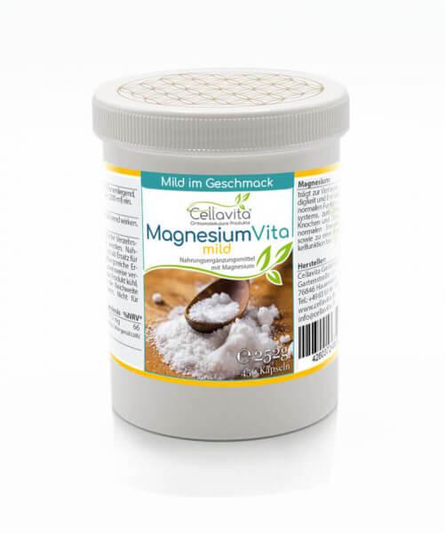 Magnesium Vita 'mild' | 450 Kapseln
