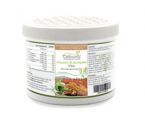 Vitamin B-Komplex Vita -3-Monatsvorrat- 180g