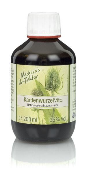 Machura's Ur-Tinktur Kardenwurzel Vita - 200ml